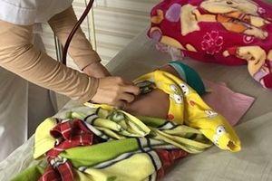 Bị nhầm ho gà với viêm phổi, bé 2 tháng tuổi nguy kịch