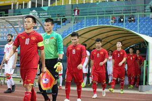 Thông tin chi tiết về lịch thi đấu của tuyển Việt Nam tại Asian Cup 2019