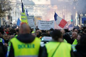 Phong trào 'Áo vàng' tổ chức biểu tình tuần thứ 5