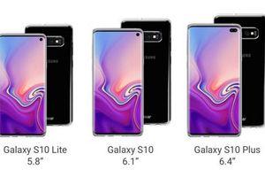 Lộ giá bán và thời điểm ra mắt 'bom tấn' Galaxy S10 của Samsung