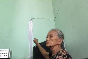 Quảng Ngãi: Dân phản ảnh Điện lực thi công trụ sở gây nứt nhà, bồi thường với giá rẻ