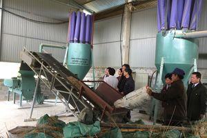 Vĩnh Phúc: Nghiệm thu cơ sở đề án 'Hỗ trợ ứng dụng máy móc thiết bị tiên tiến trong sản xuất chế biến lâm sản' tại HTX Hương Sơn