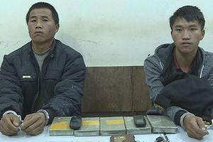 Bắt 2 đối tượng cùng 5 bánh heroin ở Sơn La