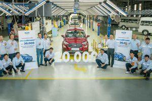 Đã sản xuất 20.000 xe Ford EcoSport tại Việt Nam