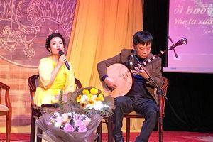 Ca sĩ Tân Nhàn và 'cuộc chơi' lớn với âm nhạc truyền thống