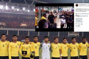 Những hình ảnh ĐT Malaysia giống như những người hùng trở về tại quê nhà