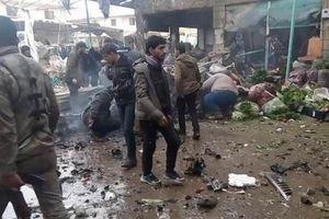 Syria: Nổ bom xe nhằm vào khu chợ ở Afrin, gần 30 người thương vong