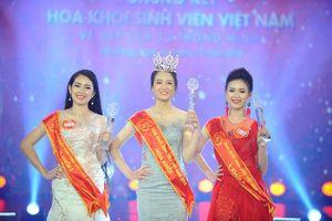 Vượt qua hơn 1.100 thí sinh, Nguyễn Phương Lan đăng quang Hoa khôi Sinh viên Việt Nam 2018