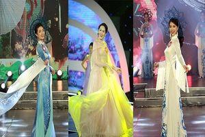Ngắm nữ sinh Hoa khôi Sinh viên rạng rỡ đêm chung kết