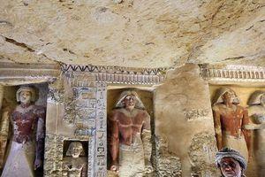 Phát hiện hầm mộ 4.400 năm tuổi ở Ai Cập