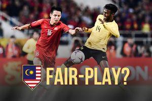 Malaysia có xứng đáng nhận giải Fair-play tại AFF Cup 2018?