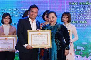 Báo Kinh tế & Đô thị đạt giải A giải báo chí về phát triển văn hóa và xây dựng người Hà Nội thanh lịch, văn minh