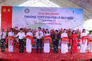 Khánh Hòa: Khánh thành trường chuyên lớn nhất tỉnh