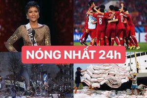 Hoa hậu H'Hen Niê lọt top 5 Miss Universe được tìm đọc nhiều nhất 24h