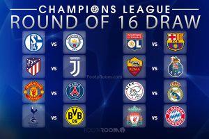 Bốc thăm vòng 1/8 Champions League: M.U và Liverpool 'toát mồ hôi'