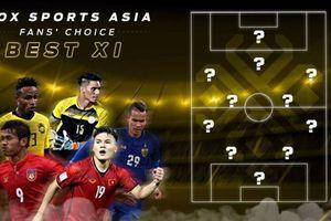 Tuyển thủ Việt Nam đứng đầu danh sách ứng cử đội hình tiêu biểu