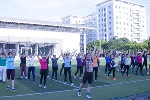 Thể thao nâng cao sức khỏe hội viên phụ nữ