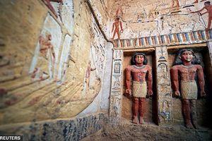 Bí mật giật mình ẩn giấu trong lăng mộ thầy tu Ai Cập