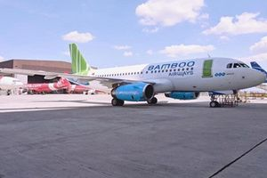 Mục sở thị máy bay đầu tiên Bamboo Airways vừa tiếp nhận