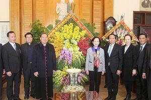 Trưởng ban Dân vận Trung ương thăm và chúc mừng Giáng sinh Giáo phận Hải Phòng