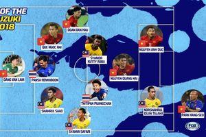 Đội hình tiêu biểu AFF Cup 2018: Nhà ĐKVĐ thống trị với 5 cái tên
