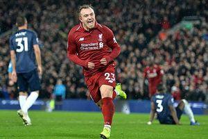 Hạ gục Man Utd, Liverpool đòi lại ngôi đầu bảng!