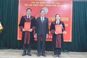 Đà Nẵng: Trao Quyết định bổ nhiệm Thẩm phán Trung cấp