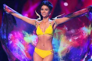 H'Hen Niê diễn bikini đẹp mắt với Top 10 Hoa hậu Hoàn vũ 2018