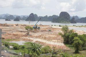 Vân Đồn (Quảng Ninh) ra 'tối hậu thư' chấn chỉnh hoạt động bốc xúc, vận chuyển đất, đá