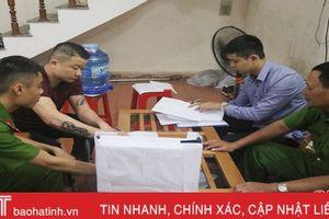 Công an TP Hà Tĩnh tiếp tục bắt giữ nhiều đối tượng hoạt động 'tín dụng đen'