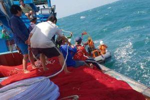 Vụ chìm tàu cá trên biển Vũng Tàu: Tìm thấy thi thể nạn nhân thứ 2