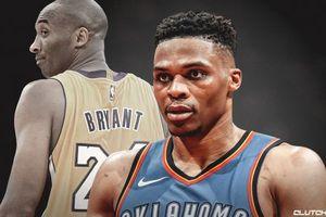 Westbrook vượt mặt Kobe Bryant, áp sát huyền thoại của Lakers