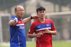 Minh Vương được HLV Park Hang Seo triệu tập chuẩn bị cho Asian Cup 2019