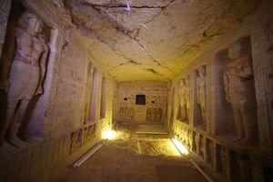 Phát hiện mộ cổ 4.400 năm tuổi có một không hai ở Ai Cập