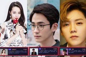 Cuộc chiến fan vote 'Đêm Weibo 2018' trong 4 ngày đầu tiên: Địch Lệ Nhiệt Ba là sao nữ duy nhất của Top5