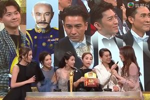 Thỏa mãn với kết quả Thị đế TVB và Nam diễn viên được yêu thích tại Lễ trao giải 2018