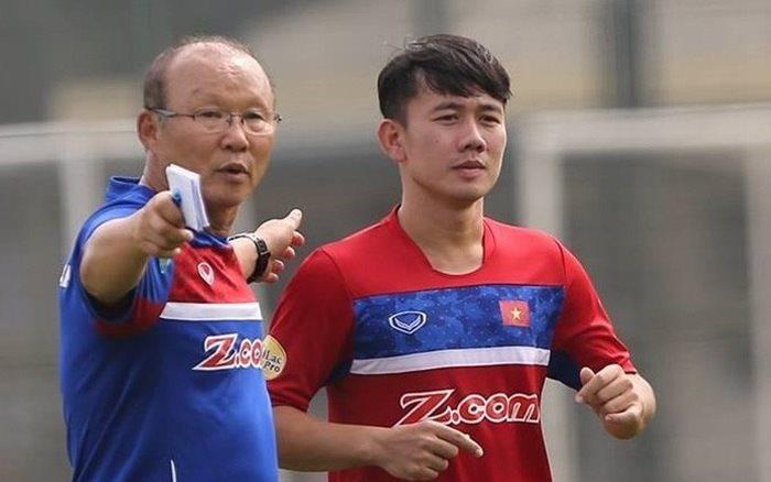HLV Park Hang-Seo gọi tiền vệ Minh Vương trở lại chuẩn bị cho Asian Cup 2019