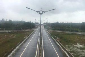 Tốc độ di chuyển qua nút giao Chu Lai tuyến cao tốc Đà Nẵng – Quảng Ngãi là bao nhiêu?