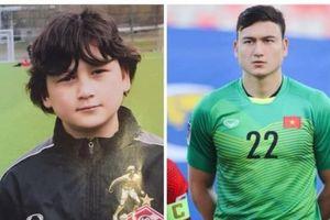 Những tấm hình thời bé của thủ môn Văn Lâm khiến fan nữ đổ gục