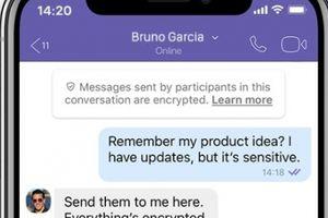Viber đặt quyền riêng tư và bảo mật lên hàng đầu