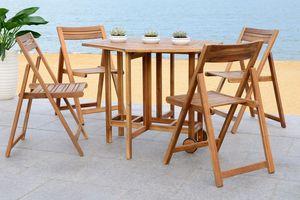 Bàn ghế ăn đẹp dành cho khu vực sân vườn