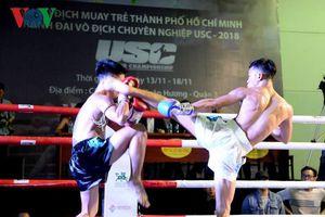 Khán giả TP.HCM sắp có cơ hội chứng kiến giải Muay Thái chuyên nghiệp