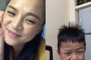 Thu Quỳnh nhắn nhủ con trai: 'Khi nào anh lớn, tôi sẽ nói cho anh nghe thế nào là đàn bà và thế nào là đàn ông'