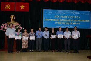 TP.HCM: Nhiều quận huyện tích cực ứng dụng KHCN vào thực tiễn công tác