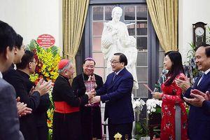 Bí thư Thành ủy Hà Nội mong các vị chức sắc, bà con Công giáo góp sức xây dựng Thủ đô