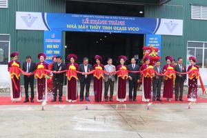 Khánh thành nhà máy thủy tinh có quy mô lớn nhất miền Trung