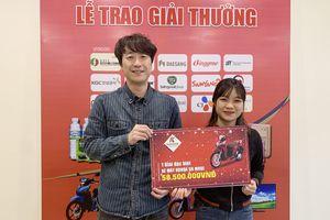 Trao giải 10 khách hàng trúng thưởng chương trình K-Foorand Việt Nam 2018
