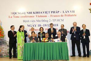 Việt Nam và Pháp đẩy mạnh hợp tác về nhi khoa
