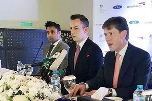Hãng hàng không phương Tây đầu tiên bay lại tới Pakistan sau 10 năm