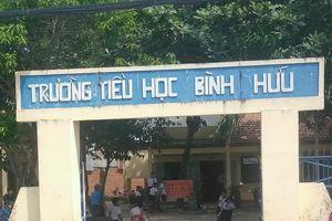 Long An: Kỷ luật cảnh cáo giáo viên đánh học sinh lớp 1 bầm tím